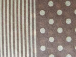 Бумага DECOPATCH Клетка-полоска-горох (коричн.)
