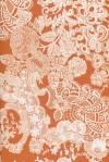 Бумага DECOPATCH Кружева оранжево-белые