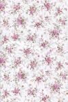 Бумага DECOPATCH Мелкие цветочки на белом