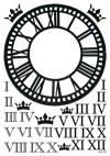Пленка FREEDECOR Циферблат и римские цифры