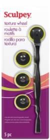 Инструмент пластиковый Texture Wheel со сменными текстурными роликами