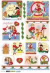 Рис. бумага Renkalik Дети в Рождество