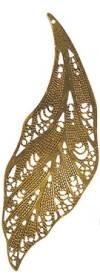 Филигранный элемент 1 шт,  цвет Золото