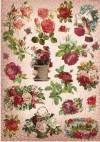 Бумага рисовая Craft Premier, Кракелюровые розы