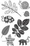 Набор штампов силиконовых Jungle Bug