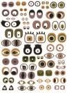 Бумага DECOPATCH Глаза