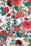 Бумага DECOPATCH Крупные цветы на белом