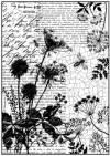 Бумага рисовая Stamperia А4 Письма и пчелы