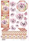 Карта серии Цветы Marij Rahder №14