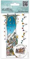 Штамп Michael Powell, Заснеженное Рождество