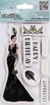Набор штампов Art Deco, Линди