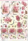 Карта Прекрасные бутоны роз