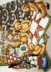 Декупажная рисовая карта ProArt, 13,5х19см, Медведи и печворк