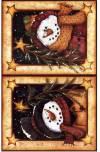 Декупажная рисовая карта ProArt, 13,5х19см, Снеговики