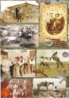 Декупажная рисовая карта ProArt, 13,5х19см, На лугу