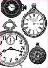 Бумага рисовая Stamperia А4 Часы