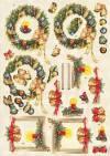 Карта Новогодние украшения