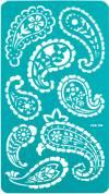 Трафарет на клеевой основе, 11,5х20,5см Огурцы