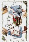 Декупажная рисовая карта ProArt, 13,5х19см, Корзина с фруктами