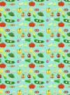 Бумага DECOPATCH  Овощи с глазками на голубом