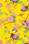 Бумага DECOPATCH Японский сад на желтом