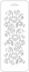 Трафарет 10х25см, Цветок
