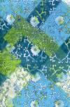 Бумага DECOPATCH Сине-зеленый орнамент