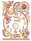 Трафарет 21х29,7см, Take your time