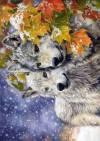 Декупажная рисовая карта ProArt, 13,5х19см, серия Волки