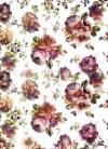 Бумага рисовая Craft Premier А4, Винтажные-цветы