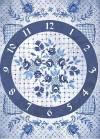 Бумага рисовая Craft Premier А4, Гжель: часы