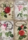 Бумага рисовая Craft Premier А4, Королевские розы