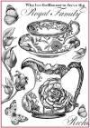 Бумага рисовая Stamperia А4 Royal family