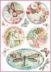 Бумага рисовая Stamperia А4 Волшебная страна, декоративные фантазии