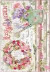 Бумага рисовая Stamperia Rose Garden