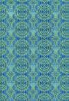 Бумага DECOPATCH Круги салатовые на синем