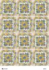 Декупажная рисовая карта ProArt, 21х29,7см, Маска