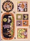 Ткань для пэчворка, панель, 60х110см, серия Boppity Boo