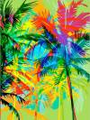 Набор для раскрашивания по номерам, 40х30см, Майами