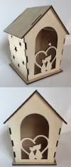 Лесной домик сборный Кошки