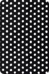 Плюш, 48х48 см, Swiss Dot Cuddle, цвет Black/snow