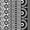 Текстурный коврик для полимерной глины, 9х9см. Геометрия