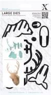 Набор ножей для вырубки Голова оленя