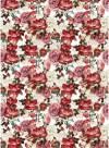 Бумага рисовая Craft Premier А4, Цветочный узор из роз