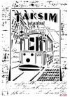 Трафарет пластиковый Cadence, 21х29см, Трамвай