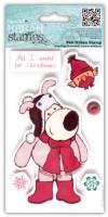 Набор штампов Буфл и Птичка, серия Boofle Christmas