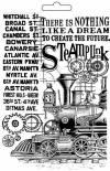 Форма для мягких моделирующих паст, Steampunk, паровоз