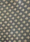 Бумага упаковочная Золотые лилии на чёрном