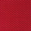 Фетр декоративный с рисунком в горошек, 30х45см, цвет Бордовый