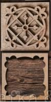 Плитка Не керамика, 5х5см, Марокканский круг